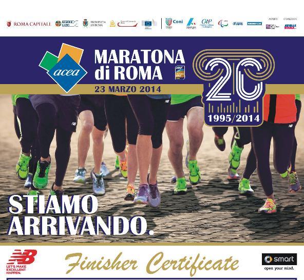 Marathon Roma 2014