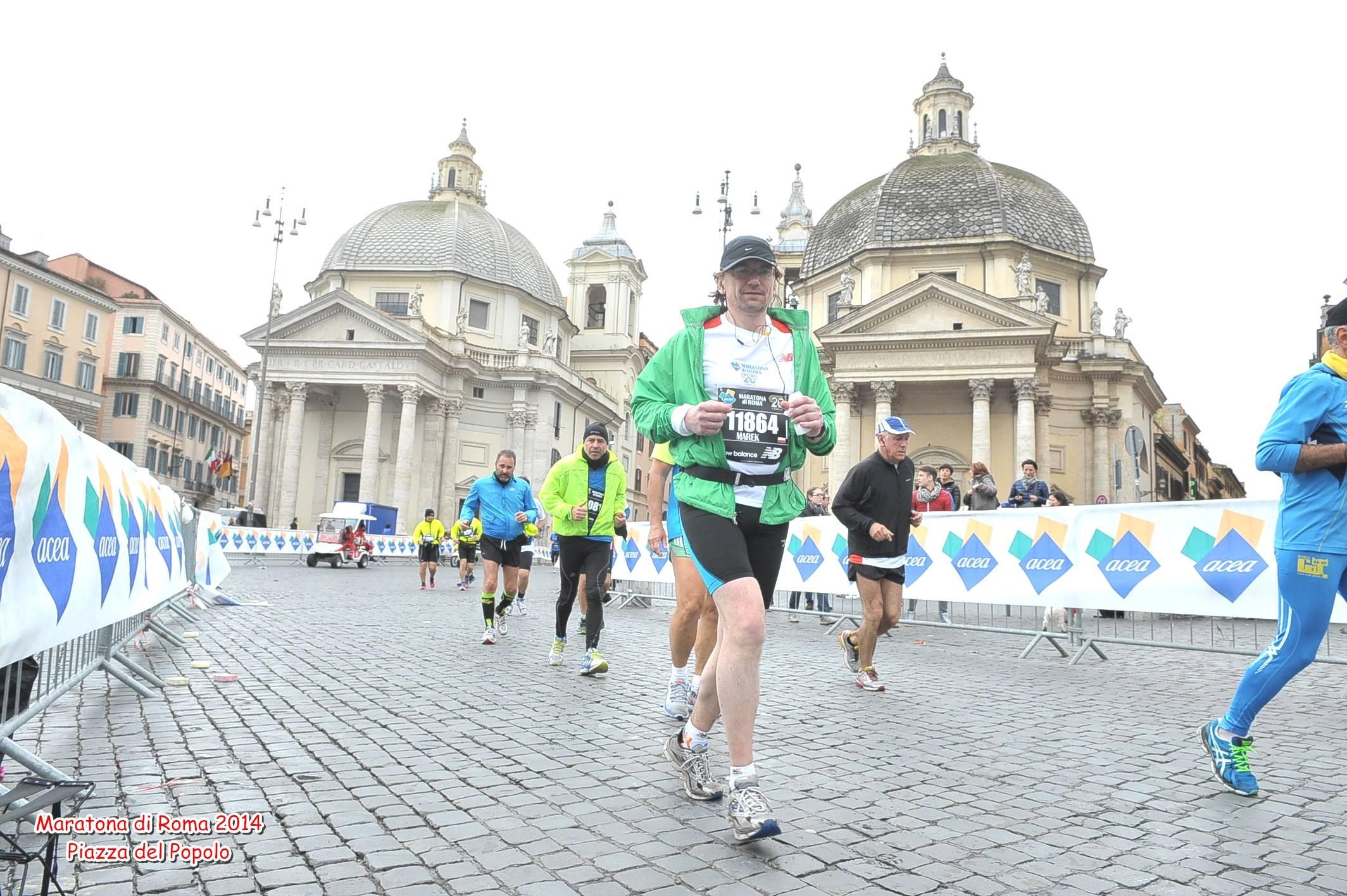 Maraton Rzym 23.03.2014